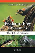 Predator-Prey Dynamics: The Role of Olfaction