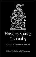 The Haskins Society Journal 5 – 1993. Studies in Medieval History