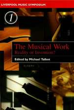 Musical Work: Reality or Invention?