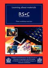 Learning about Materials:  Rsc