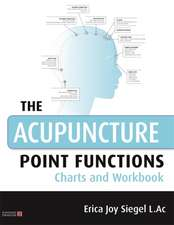THE ACUPPOINTS FUNCTIONS CHARTS