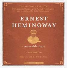 A Moveable Feast UNABRIDGED Audio CD