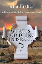 What Is God Doing in Israel:  When Jews and Palestinians Meet Jesus