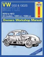 VW 1302S Super Beetle Owner's Workshop Manual