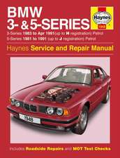BMW 3- & 5-Series Petrol (81 - 91) Haynes Repair Manual