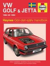 VW Golf and Jetta II (1984 - 1992) Haynes Repair Manual (svenske utgava)