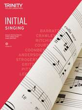 Trinity College London Singing Initial 2018-2021