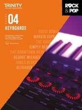 Trinity Rock & Pop 2018 Keyboards Grade 4