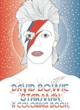 David Bowie: Starman, A Coloring Book