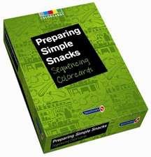 Preparing Simple Snacks: Colorcards