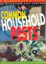 Common Household Pests:  Homeowner's Guide to Detection and Control