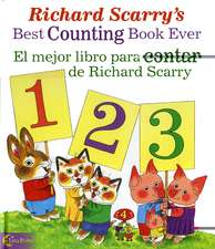 Richard Scarry's Best Counting Book Ever / El Mejor Libro Para Contar de Richard Scarry