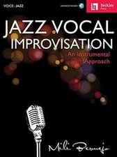 JAZZ VOCAL IMPROVISATION