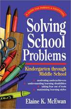 Solving School Problems