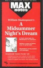 Midsummer Night's Dream, a (Maxnotes Literature Guides)
