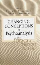 Changing Conceptions Psychoanalys.