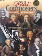Meet the Great Composers, Bk 1: Book & CD