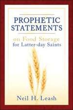 Prophetic Statements on Food Storage