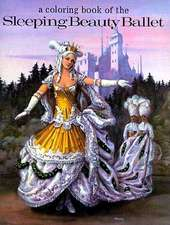 A Coloring Book of the Sleeping Beauty Ballet