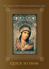 """The Icon of the Nevskaya Mother of God """"Quick to Hear"""""""