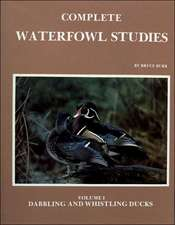 Complete Waterfowl Studies Volume I:  Dabbling Ducks and Whistling Ducks
