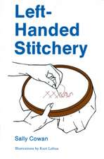 Left-Handed Stitchery:  A Carving Primer for Beginning and Advanced Carvers