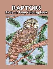 Raptors: Bird of Prey Coloring Book