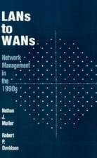 LANs to WANs:  Network Management in the 1990s