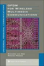 Ofdm for Wireless Multimedia Communications