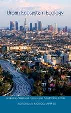 Urban Ecosystem Ecology