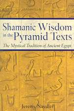 Shamanic Wisdom in the Pyramid Texts:  The Mystical Tradition of Ancient Egypt