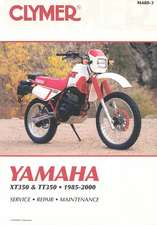 Yamaha Xt350 and Tt350 1985-2000