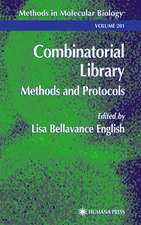 Combinatorial Library: Methods and Protocols