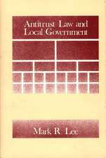 Antitrust Law and Local Government