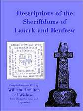 Descriptions of the Sheriffdoms of Lanark and Renfrew