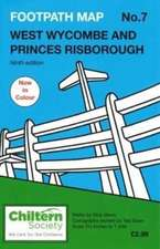 Footpath Map No. 7 West Wycombe and Princes Risborough