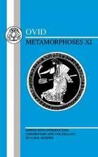 Ovid: Metamorphoses XI