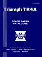 Triumph TR4A Parts Catalog