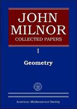 John Milnor Collected Papers, Volume 1
