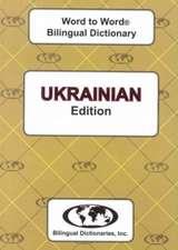 Sesma, C: English-Ukrainian & Ukrainian-English Word-to-Word