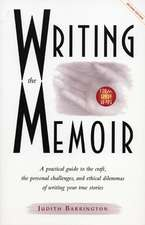 Writing the Memoir