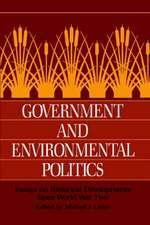Government and Environmental Politics