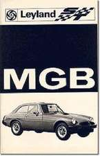 MG Owners' Handbook:  MG MGB Tourer & GT Tuning