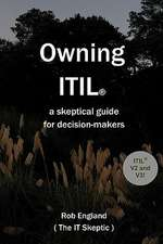 Owning Itil(r):  A Skeptical Guide for Decision-Makers
