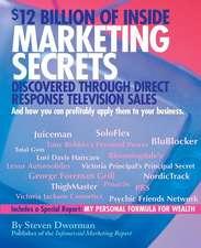 $12 Billion of Inside Marketing Secrets