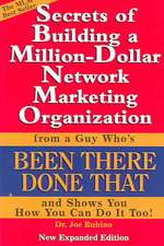 Secrets of Building a Million-Dollar Network Marketing Organization