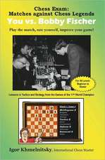 Chess Exam:  Play the Match, Rate Yourself, Improve Your Game!