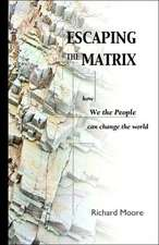 Escaping the Matrix:  How We the People Can Change the World