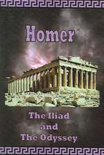 Homer - The Iliad and the Odyssey:  The Art of Christopher Carter