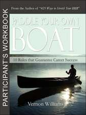 Paddle Your Own Boat - Participant's Workbook
